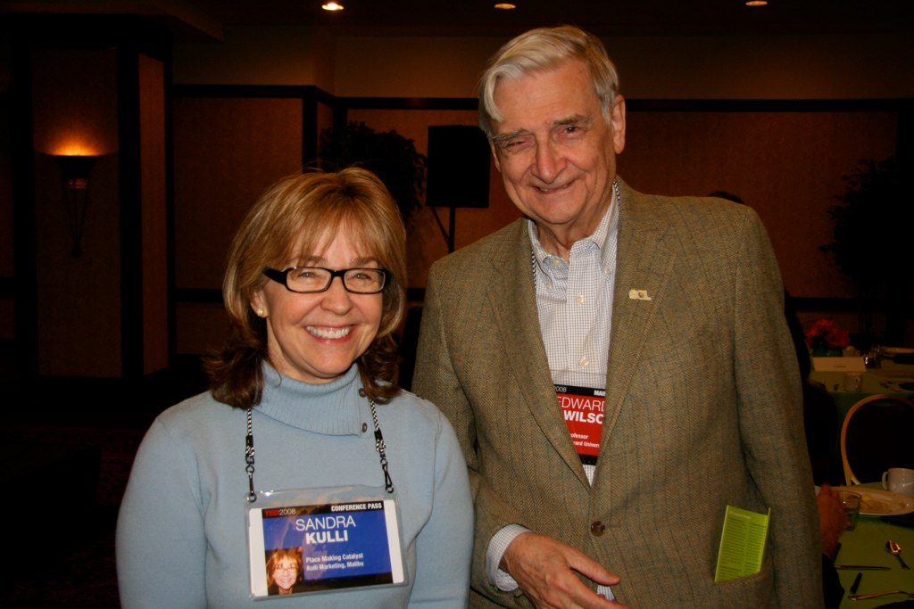 Meeting EO Wilson at TED